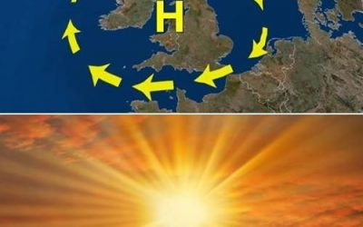 Ireland to sizzle , hitting record breaking temperatures