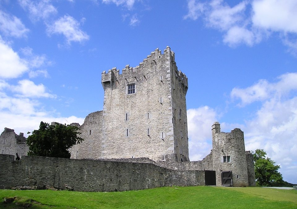 Ross Castle ,steeped in history