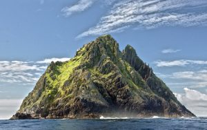 sage taxi pic of skellig michael